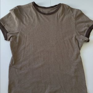 Men's BR Light Brown Fitted Crew